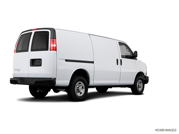 2013 Chevrolet Express 3500 Cargo Diesel Extended  Photo
