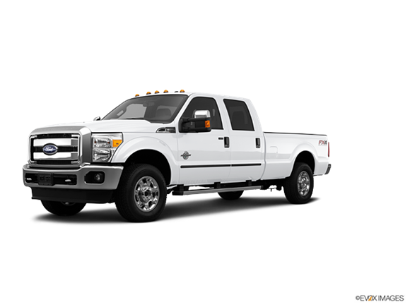 2013 Ford F250 Super Duty Crew Cab Platinum  Photo