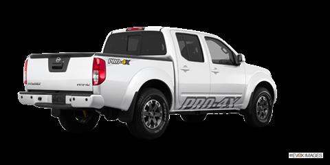 2015 Nissan Frontier Crew Cab PRO-4X Comparison - Kelley ...