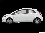 2015 Toyota Yaris LE  Hatchback Coupe
