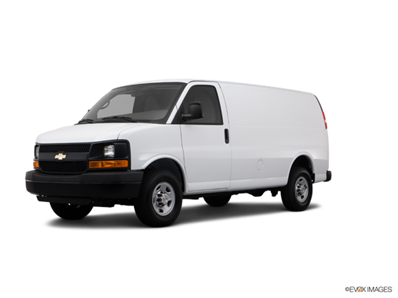 2012 Chevrolet Express 3500 Cargo Diesel Extended Photo