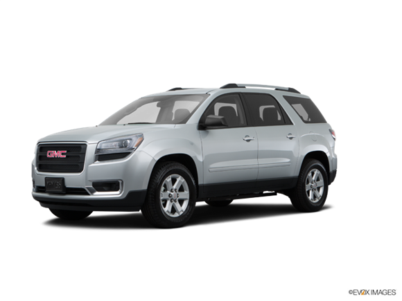 2008 Gmc acadia residual value