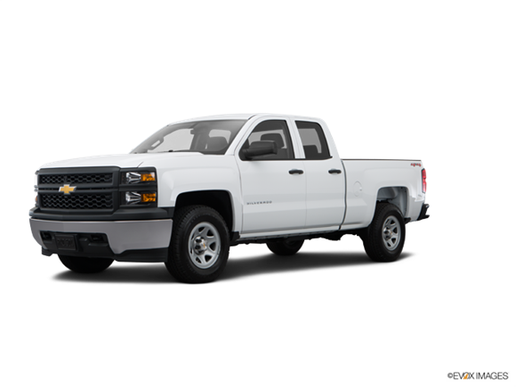 2015 Chevrolet Silverado 1500 Double Cab Work Truck  Pickup