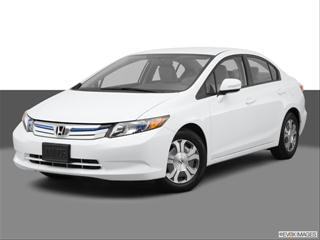 2012 Honda Civic 4-door Hybrid  Sedan Front angle medium view photo