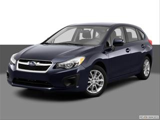 2012 Subaru Impreza 4-door 2.0i Premium  Wagon Front angle medium view photo