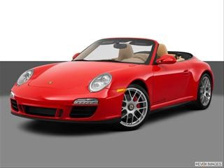 2013 Porsche 911 2-door Turbo S  Cabriolet Front angle medium view photo