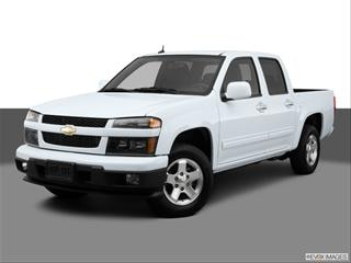 2012 Chevrolet Colorado Crew Cab 4-door LT  Pickup Front angle medium view photo