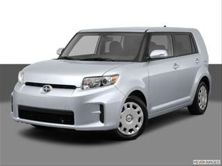 2012 Scion xB 4-door   Sport Wagon Front angle medium view photo