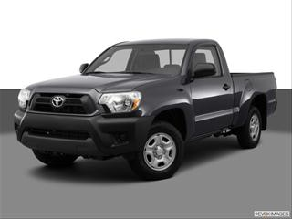 2012 Toyota Tacoma Regular Cab 2-door   Pickup Front angle medium view photo