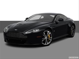 2012 Aston Martin Vantage 2-door V12  Coupe Front angle medium view photo