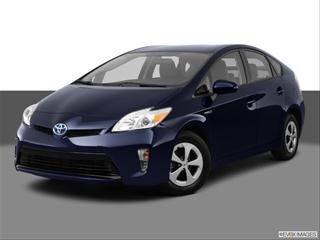2012 Toyota Prius 4-door  Five Hatchback Front angle medium view photo