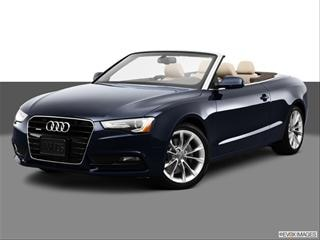 2013 Audi A5 2-door 2.0T Premium Plus  Cabriolet Front angle medium view photo