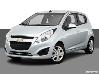 2013 Chevrolet Spark 4-door LS  Hatchback Front angle medium view photo