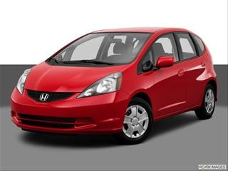 2013 Honda Fit Front angle medium view