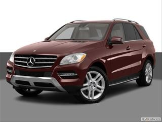 2013 Mercedes-Benz M-Class 4-door ML350  Sport Utility Front angle medium view photo