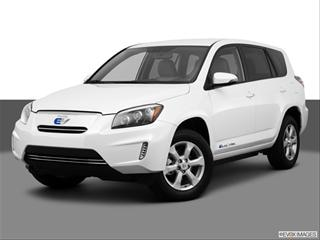 2012 Toyota RAV4 4-door EV  Sport Utility Front angle medium view photo