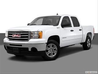 2013 GMC Sierra 1500 Crew Cab 4-door Hybrid  Pickup Front angle medium view photo