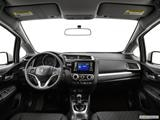 2015 Honda Fit Dashboard, center console, gear shifter view