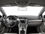 2015 Volkswagen Golf Dashboard, center console, gear shifter view photo
