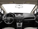 2012 Mazda MAZDA5 Dashboard, center console, gear shifter view photo