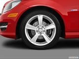 Front Drivers side wheel at profile photo