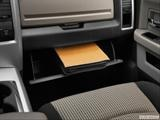 Glove box open photo