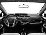 2012 Toyota Prius c Dashboard, center console, gear shifter view photo