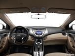 2013 Hyundai Elantra Dashboard, center console, gear shifter view photo