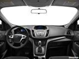 2013 Ford Escape Dashboard, center console, gear shifter view
