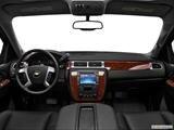 2013 Chevrolet Suburban 2500 Dashboard, center console, gear shifter view