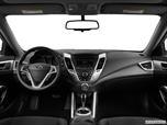 2013 Hyundai Veloster Dashboard, center console, gear shifter view photo