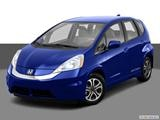 2014 Honda Fit Front angle view photo
