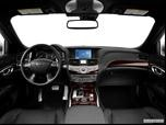 2013 Infiniti M Dashboard, center console, gear shifter view photo