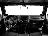 2014 Jeep Wrangler Dashboard, center console, gear shifter view