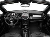2014 MINI Cooper Roadster Dashboard, center console, gear shifter view