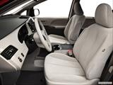 2013 Toyota Sienna Front seats from Drivers Side