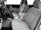 2013 Toyota Highlander Front seats from Drivers Side