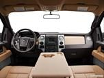 2013 Ford F150 SuperCrew Cab Dashboard, center console, gear shifter view photo