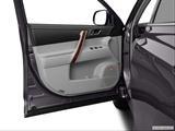 2013 Toyota Highlander Inside of driver's side open door, window open