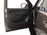 2013 Chevrolet Tahoe Inside of driver's side open door, window open