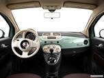 2013 FIAT 500 Dashboard, center console, gear shifter view photo