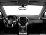 2014 Cadillac SRX Dashboard, center console, gear shifter view