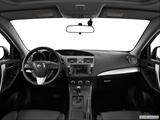 2013 Mazda MAZDA3 Dashboard, center console, gear shifter view