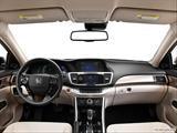 2014 Honda Accord Dashboard, center console, gear shifter view