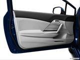 2013 Honda Civic Inside of driver's side open door, window open
