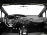 2013 Honda Civic Dashboard, center console, gear shifter view