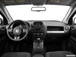 2014 Jeep Compass Dashboard, center console, gear shifter view photo