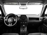 2014 Jeep Patriot Dashboard, center console, gear shifter view