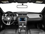 2014 Ford Mustang Dashboard, center console, gear shifter view photo