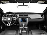 2014 Ford Mustang Dashboard, center console, gear shifter view